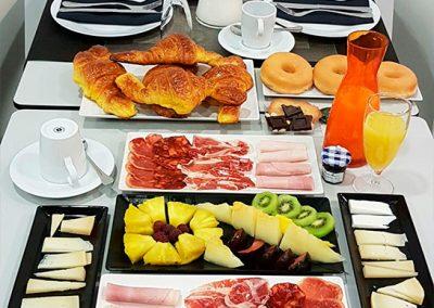 Servicio de desayuno