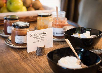 Desayuno basado en producto local