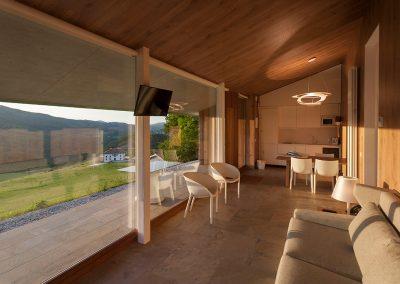 Interior Cabaña Deluxe